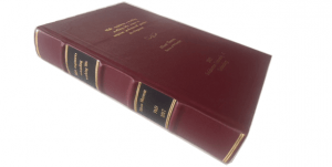 Genuine leather hard binding
